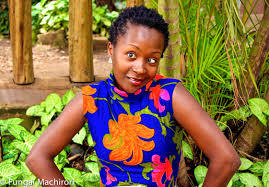 Anne Kansiime, Uganda's Queen of Comedy [Image from www.herzimbabwe.co.zw