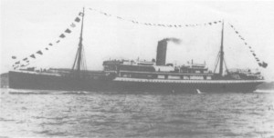 The ill-fated SS Mendi. (Image Source)