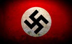 The Nazi swastika