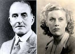 Sir Hugh Broughton and his wife, Diana. Image Source: www.thepeerage.com]