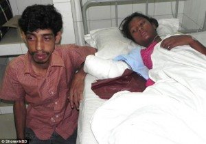 Didar and Aana. Image from www.dailymail.co.uk