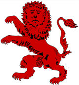 Wait, is this lion sad? Melancholic? Is it looking at Alice de Janze and begging her to adopt it? Is it sad to be on the flag?