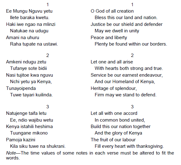 Why Kenyas National Anthem Is So Beautiful Owaahh